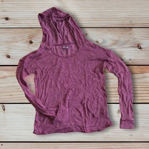 AERIE Hooded Knit Sweater